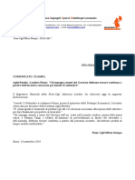 Landini - Dichiarazione Agile-Eutelia - 10 Settembre 2010