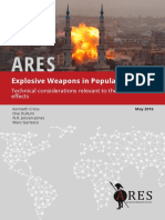 ARES Special Report Explosive Weapons in Populated Areas May 2016 Web
