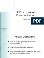 Communication Mosaics Chapter 01  - A first look at communication