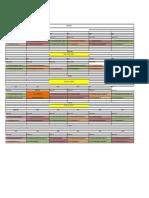 ORAR 2017-2018 Semestrul II