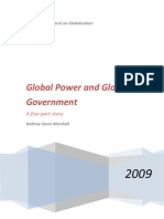 Global Power and Global Government by Andrew Gavin Marshall