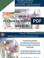 UNIDAD I FLUIDOS DE PERFORACION 2017 (PARTE II).ppt