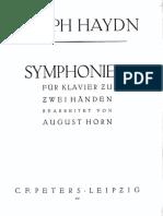 Haydn 102 Arreglo Piano