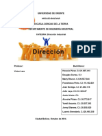 Direccion Industrial. Grupo #4