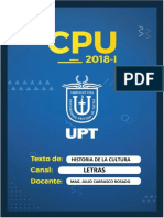 Modulo Historia de La Cultura CPU 2018-I Letras Julio Carrasco Rosado (1)