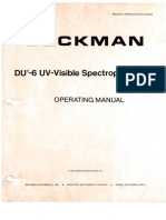 Beckman DU 6 UV Visible Spectrophotometer (20)
