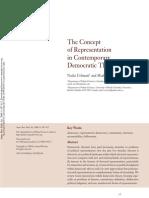 Urbinati and Warren - Concept of Representation