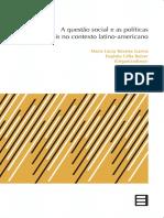 Livro Edufes a Questão Social e as Políticas Sociais No Contexto Latino-Americano
