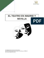 El teatro en Sevilla y Madrid