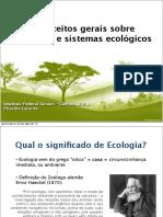 Aula 1 Ecologia PDF