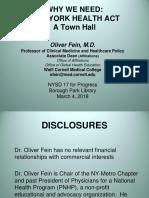 Dr. Oliver Fein - NYHA Presentation - 3.4.18