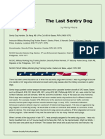 Last Sentry Dog