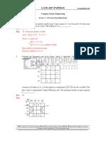 CS GATE'2017 Paper 01 Key Solution