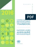 2016 Demographic Yearbook