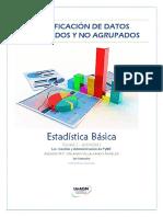 Clasificación de Datos Agrupados y No Agrupados