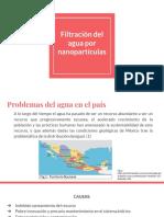 Filtración Del Agua Por Nanopartículas
