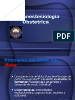 Anestesia Obstetrica, UP
