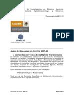 Demandas Del Sector 2011-16 (4) MORINGA