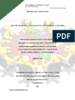 Línea de Tiempo- Psicología en Latinoaméricana y en Colombia