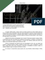 Release Artístico Gabriel Opitz e Grupo