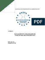 Dumitru IACOB - ManagementulOrganizatiilor