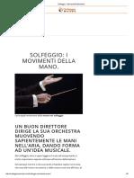 Solfeggio_ I Movimenti Della Mano