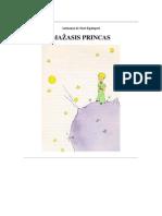 Antuanas de Sent - Egziuperi - Mazasis Princas