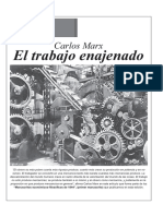El Trabajo Enajenado (Marx)