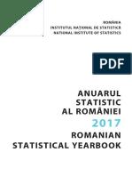Anuarul Statistic Al Romaniei Carte Ro