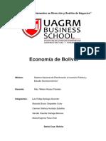 Informe Completo Economia Boliviana