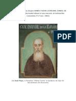 Arhim. Mihail Stanciu despre Sandu Tudor (Cuviosul Daniil de la Rarau)