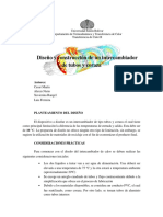 Informe Tubo Coraza