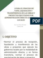 4 PROCESO DE RECEPCIÓN, LIQUIDACIÓN DE OBRA.pptx