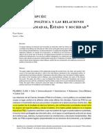 Aguero (2003) La Ciencia Política y Las Relaciones Fuerzas Armadas, Estado y Sociedad