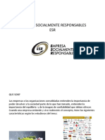 Empresa Socialmente Responsables