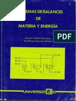 86679538 Capitulo 1 Balances de Materia y Energia Dr Antonio Valiente