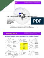 Cap 1. Heterociclos de Uso Farmaceutico