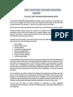 """Reseña Histórica de la IE N° 14037 """"ARTEMIO REQUENA CASTRO"""" Nuevo Catacaos-Piura-Perú"""