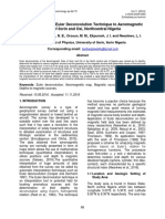 Application of 3-d Euler Deconvolution Technique to Aeromagnetic Data of Ilorin and Osi Northcentral Nigeria Lawal Et Al