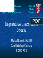 Mri Spine Degenerative Diseases