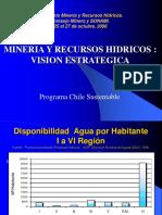 17.- Mineria y Recursos Hidricos - Vision Estrategica