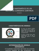 Modelo Matemático de Un Motor de Corriente Continua (1)