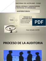Proceso de La Auditoria de Gestion