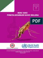 Buku Saku Penatalaksanaan Kasus Malaria