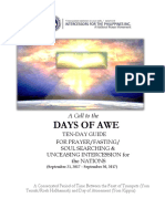 Set 4 - A Ten Day Guide for the Days of Awe Sept 21- 30, 2017