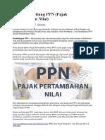 Cara Menghitung PPN