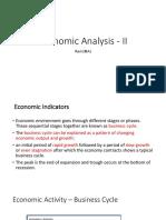 Economic Analysis - II