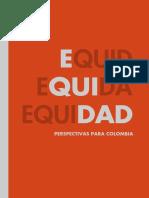 EQUIDAD Perspectivas Para Colombia