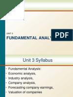 01. Fundamental Analysis _Economic Analysis