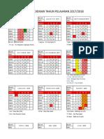 8. Kalender Pendidikan- 2017-2018